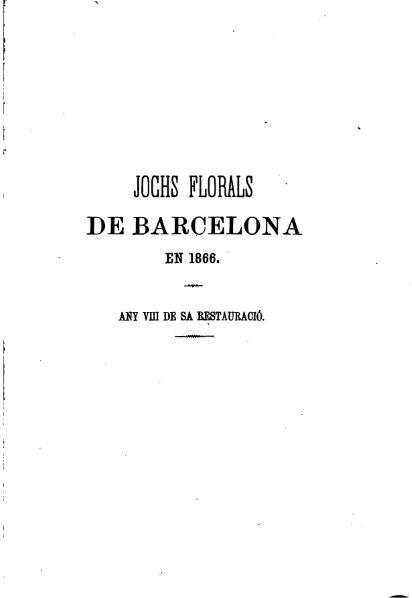 File:Jochs Florals de Barcelona en 1866.djvu