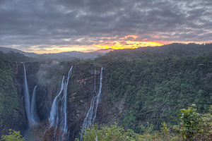 Jog Falls - Image: Jog Falls Early Morning