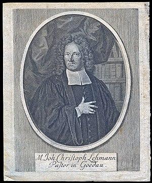 Johann Georg Christian Lehmann cover