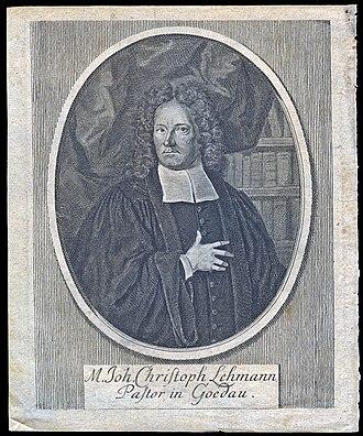 Johann Georg Christian Lehmann - Image: Johann Christoph Lehmann (6268902914)
