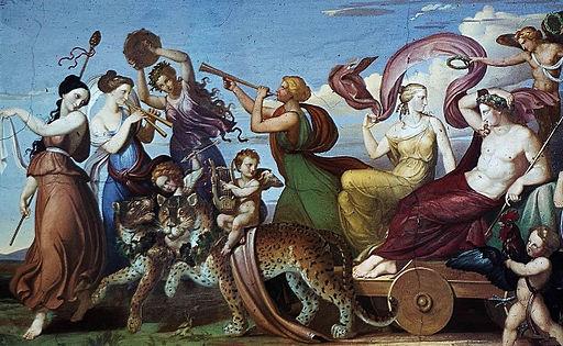 Johann Friedrich Dieterich - The Triumph of Bacchus, 1826-1829