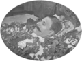 Johann Strauß auf dem Todtenbette 1899 J. Löwy.png