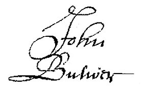 John Bulwer signature from will.jpg