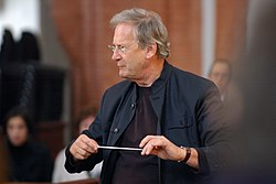 Sir John Eliot Gardiner at Rehearsal