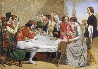 1849 in art - Isabella (Millais)