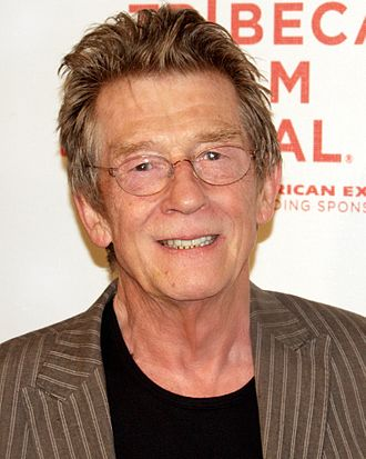 John Hurt - At the 2009 premiere of An Englishman in New York