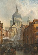 John O'Connor - Ludgate, Evening - 1887