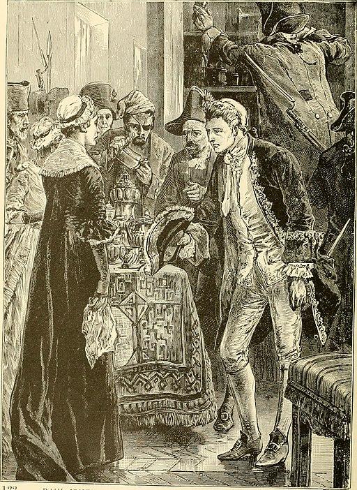 John Paul Jones seizing the silver plate of Lady Selkirk (1)