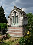 West Norwood Memorial Park Mausoleum of JP Ralli West of Gate in the Greek Burial Ground
