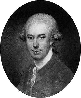 John Russell (English painter) - John Russell, self-portrait c. 1780