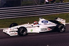 Johnny Herbert podczas Grand Prix Kanady 1999