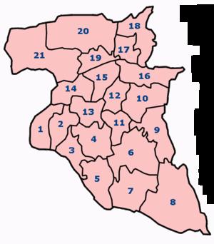 Pembagian Wilayah Administrasi | MTsN Denanyar Jombang
