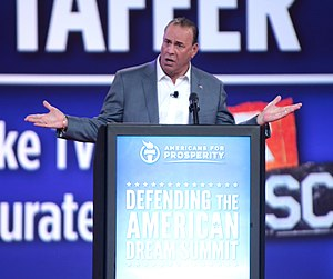 Jon Taffer - Taffer speaking at the 2015 Defending the American Dream Summit in Columbus, Ohio