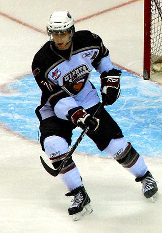 Jonathon Blum - Blum with the Vancouver Giants in 2007–08