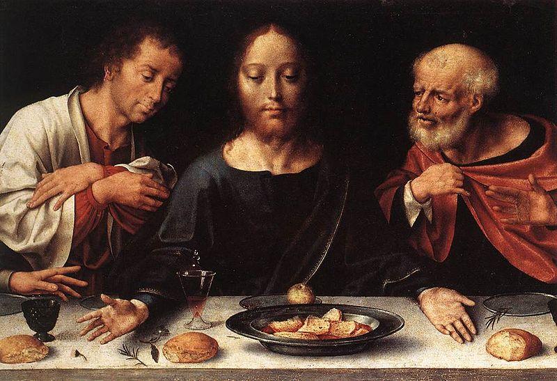 File:Joos van Cleve - Altarpiece of the Lamentation (detail) - WGA5043.jpg