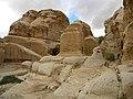 Jordan, Petra, Ancient tombs (2); DSCN0988.jpg