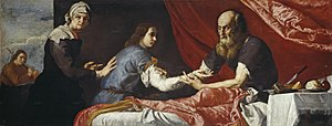 Toledot - Isaac Blessing Jacob (1637 painting by Giuseppe Ribera)