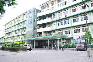 José R. Reyes Memorial Medical Center - Facade of the Hospital