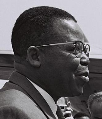 Belgian Congo general election, 1960 - Image: Joseph Kasa Vubu in Israel