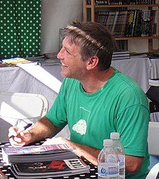 Joshua Dysart at WeHo Book Fair 2010.jpg