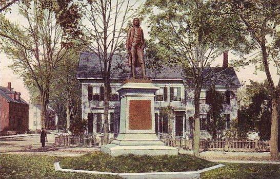 Josiah Bartlett's Statue, Amesbury, MA