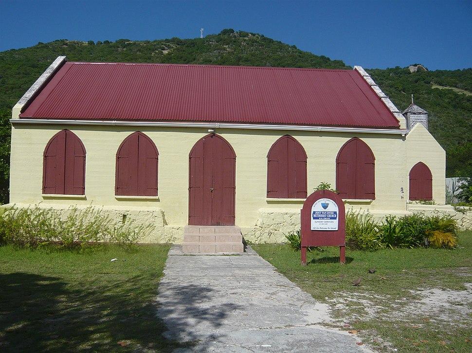 Jost Van Dyke Methodist Church 2010