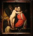 Juan bautista maino, sacra famiglia con san giovannino (da caravaggio).jpg