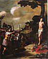 Juan van der Hamen y León - Das Martyrium des Heiligen sebastian.jpg