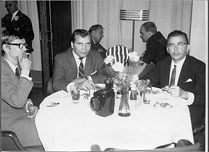 Eino Grön - Juha Vainio, Eino Grön and Olavi Virta in 1965.