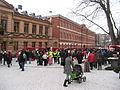 Julmarknad Gamla Stortorget mot ån 2009.jpg