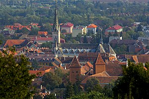 Kőszeg - Image: Kőszeg. View to the city
