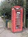 K6 telephone kiosk at St. Mary's Rickmansworth 1101568 (2).jpg