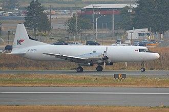 KF Cargo - A KF Cargo Convair 5800