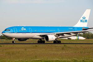 KLM A330-200 PH-AOD.