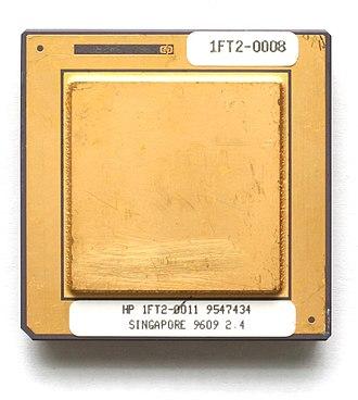 PA-7100LC - A PA-7100LC microprocessor.