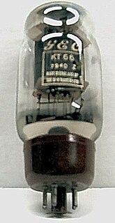 KT66 Audio frequency beam tetrode