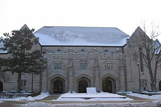 Budig Hall - Budig Hall at the University of Kansas in Lawrence, Kansas