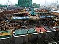 Kai Long Court under foundation works in January 2016.jpg