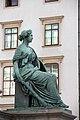 Kaiser Franz-Denkmal Hofburg Wien 2015 Sitzfiguren Stärke.jpg