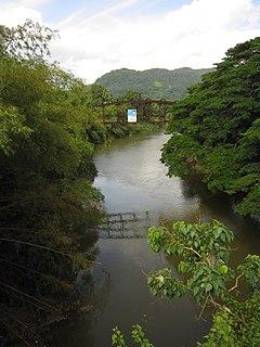 Kalu Ganga river in Sri Lanka