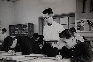 Secondary education in Japan - A high school class in 1963
