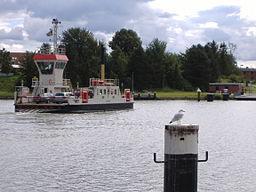 Kanalfähre in Sehestedt