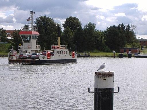 Kanalfaehre Sehestedt