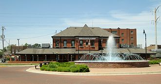 Kankakee station - Image: Kankakee Illinois Central Railroad Depot
