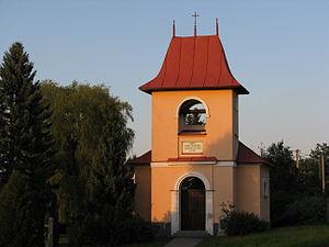 Hodíškov - Image: Kaple sv. Cyrila a Metoděje (Hodíškov) 2012 09 (2)