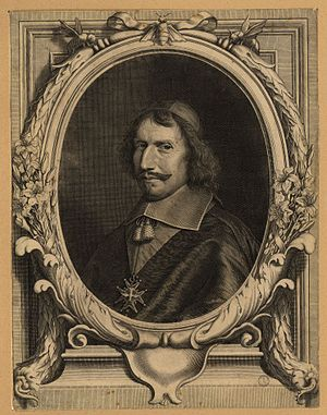 Antonio Barberini - Engraving of Cardinal Barberini, c. 1645.