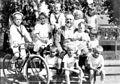 Karl Putz v. Rolsberg mit Enkelkindern, 60. Geburtstag 1912.jpg