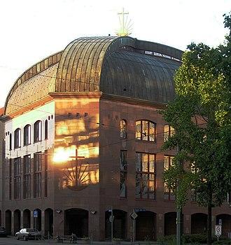 New Apostolic Church - Churches with emblem (Karlsruhe, Karlstraße)