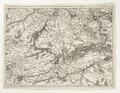 Karta över omgivningarna vid Lille, Tournay, Valenciennes, Bouchain, Donay, Arras, Bethune, 1745 - Skoklosters slott - 98034.tif