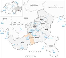 engadin karte Sils im Engadin/Segl – Wikipedia